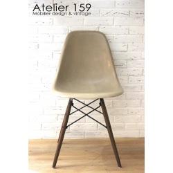 DSW Chaise Eames originale et vintage Greige Herman Miller