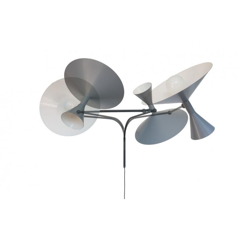 applique lampe de marseille l 166 cm le corbusier atelier 159. Black Bedroom Furniture Sets. Home Design Ideas