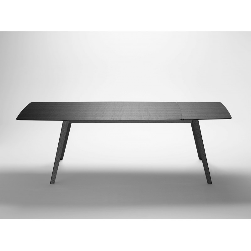Table plateau ceramique extensible for Table ovale extensible