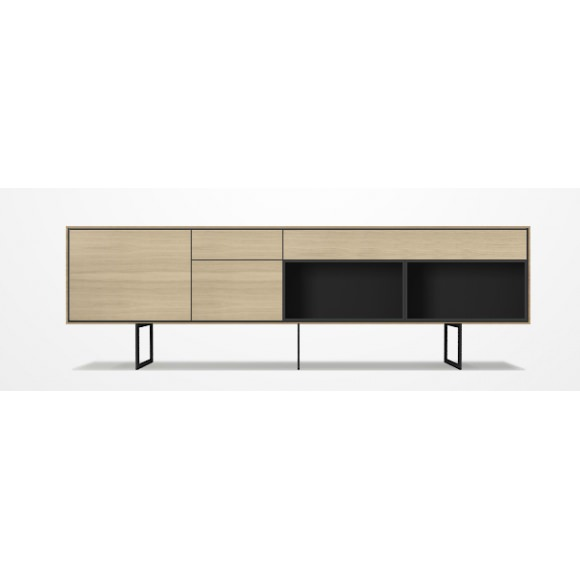 enfilade buffet meuble tv aura 244cm treku atelier 159. Black Bedroom Furniture Sets. Home Design Ideas