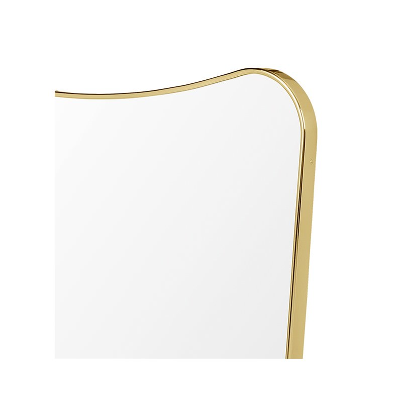 Miroir rectangulaire f 80 x 54 cm gio ponti for Miroir rectangulaire