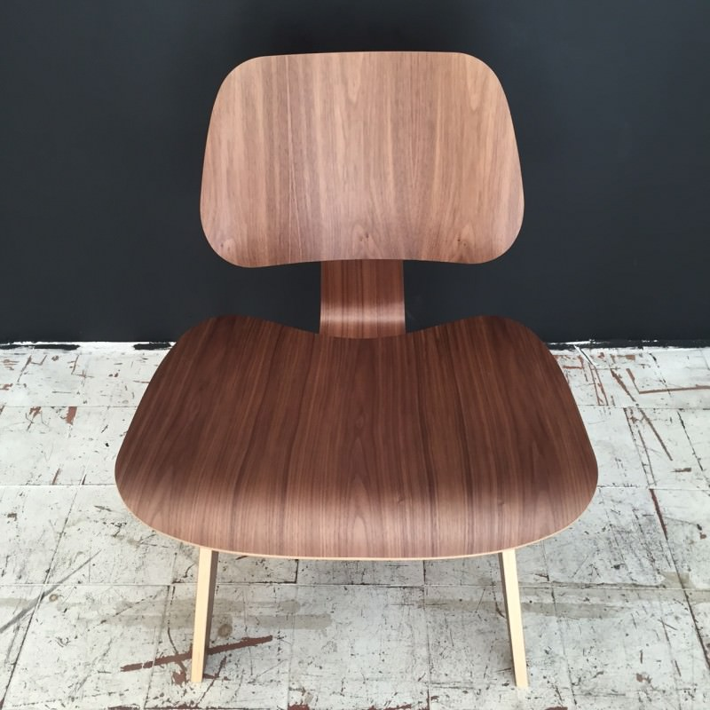 Lcw lounge chair eames herman miller original authentique chaise shell chair - Chaises eames marseille ...