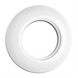 Cache simple en porcelaine rond (encastrable) - THPG