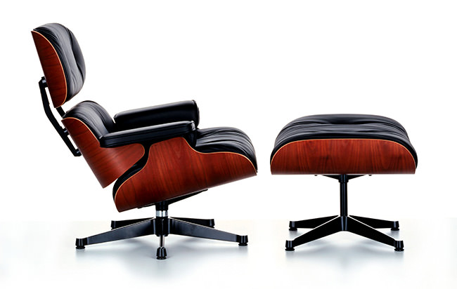 les secrets de la lounge chair de charles et ray eames atelier 159. Black Bedroom Furniture Sets. Home Design Ideas