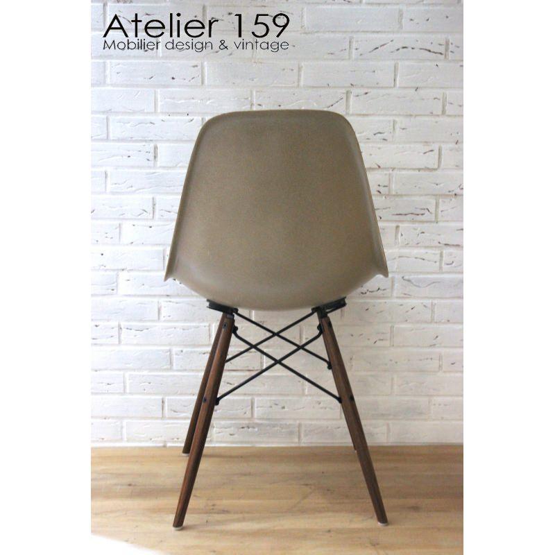 dsw chaise eames originale et vintage greige herman miller atelier 159. Black Bedroom Furniture Sets. Home Design Ideas