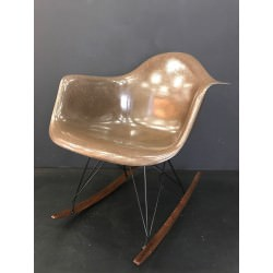 RAR Rocking Chair Eames Brown original et vintage - Herman Miller