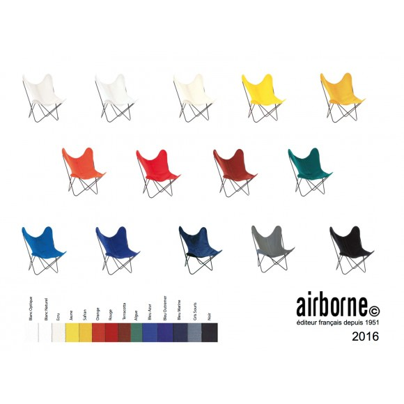 Housse indoor / outdoor AA Butterfly Coton - AIRBORNE