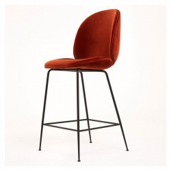 CONFIGUREZ votre tabouret BEETLE BAR CHAIR tapissée Velours Gamfratesi - GUBI
