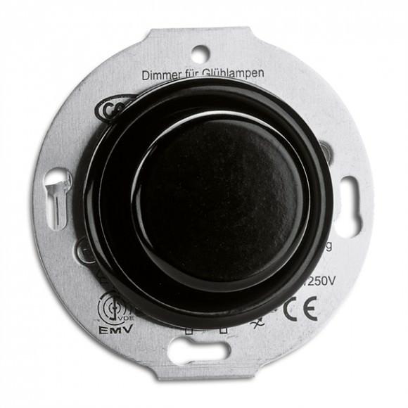 Variateur en bakelite Dimmer LED 7-110 vendu sans son cache  (encastrable) - THPG