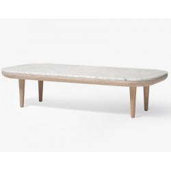 TABLE BASSE FLY RECTANGULAIRE MARBRE SC5 - AND TRADITION
