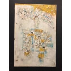 Huile sur toile 120 X 80 cm - Adi Candra