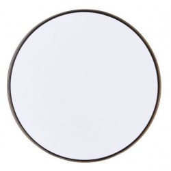 Miroir design Reflektion rond brass 40cm - House Doctor