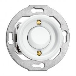 Bouton poussoir sans symbole en porcelaine (encastrable) - THPG