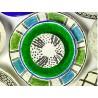 Plateau Isa médium en papier maché Diamètre 24,5*H.6 cm - Serax
