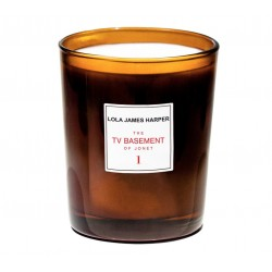 "Bougie parfumée ""1 The TV Basement of Jonet"" 190g - Lola James Harper"