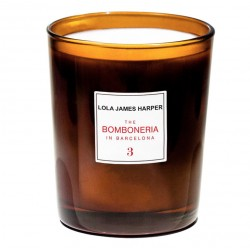 "Bougie parfumée "" 3 The Bomboneria in Barcelona"" 190g - Lola James Harper"