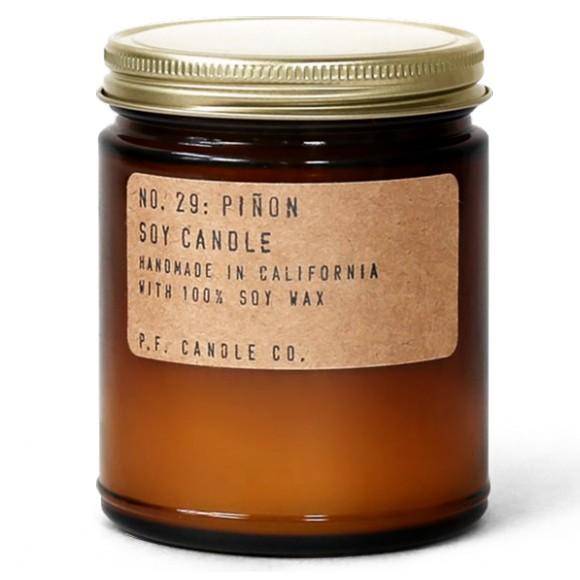 Bougie parfumée de soja NO. 29: PIÑON 200G - PF Candle Co
