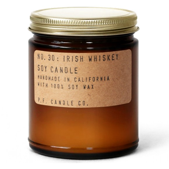Bougie parfumée de soja NO. 30: IRISH WHISKEY 200G - PF Candle Co