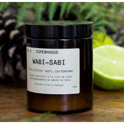 "Bougie parfumée ""NO.8 : Copenhague"" 150g - Wabi-Sabi"
