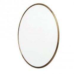 Miroir rond Copenhagen Laiton brossé Ø 80cm - Muubs