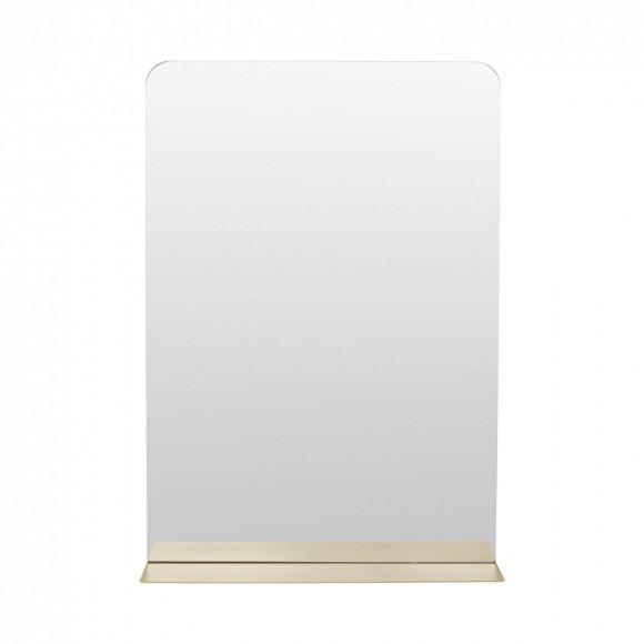 Miroir Room laiton 50*35*10 cm - House Doctor