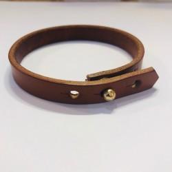 Bracelet Cuir Camel - Le Sellier