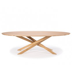 Table en chêne OVALE MIKADO - Ethnicraft