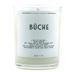 Bougie parfumée BÛCHE 190g - HUTTE