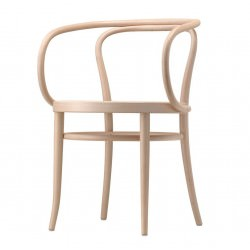 Chaise 209 hêtre naturel verni - Thonet