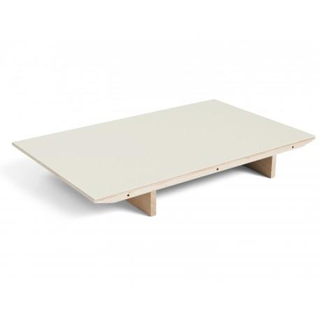 Table extensible Copenhague CPH30 160-310*80cm Off-white / Chêne laqué mat Bouroullec - Hay