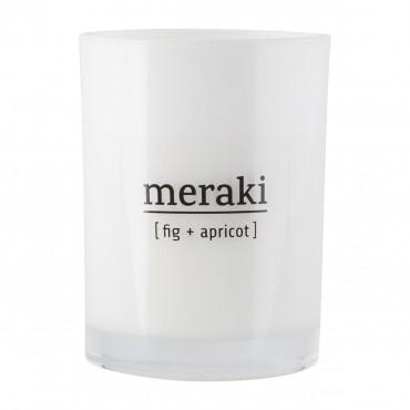 Bougie parfumée MERAKI 8 cm - Figue Abricot