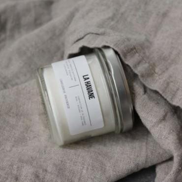 """Bougie parfumée """"La Havane"""" Verre 200g - Candlebox"""