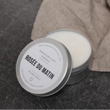 """Bougie parfumée """"Rosée du matin"""" Aluminium 170g - Candlebox"""