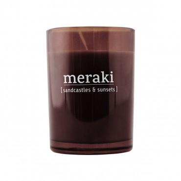 Bougie parfumée MERAKI 8 cm -Sandcastles & sunsets