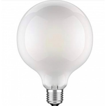 Ampoule Globe filaments LED XXL 125mm - Opaque - E27 4W