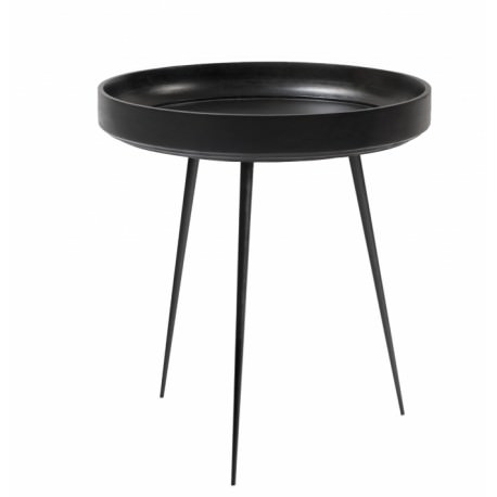 Table basse BOWL medium Black Noir - Mater