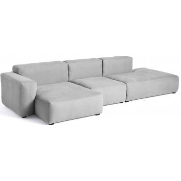 Canapé Mags Soft accoudoirs bas Longueur 321 cm - Hay