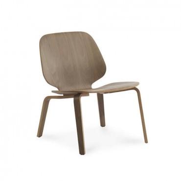 """Chaise lounge """"My Chair"""" Noyer - Normann Copenhagen"""
