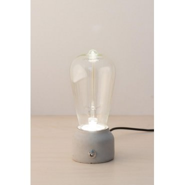 Lampe Led Pure Mold Béton Vertical