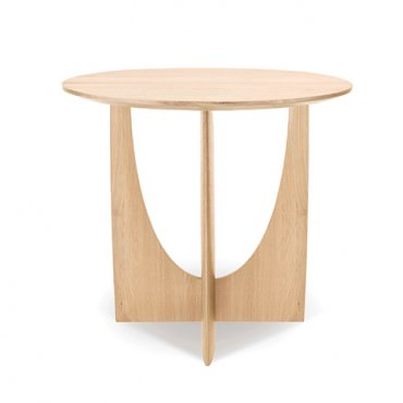 Table d'appoint GEOMETRIC en chêne - Ethnicraft