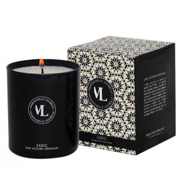 Bougie Parfumée de Luxe 220G- Zadig - Mademoiselle Lulubelle