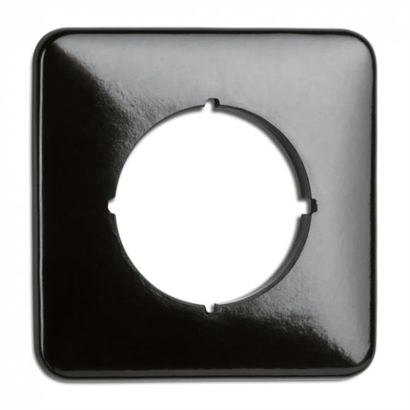 Cache simple carré en bakelite  (encastrable) - THPG