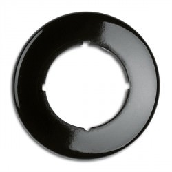 Cache simple rond en bakelite (encastrable) - THPG