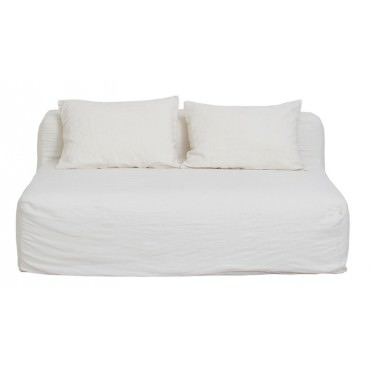 Canapé Slow FAMILY 300cm en lin - Bed and Philosophy