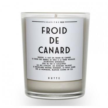 Bougie parfumée FROID DE CANARD 190g - HUTTE
