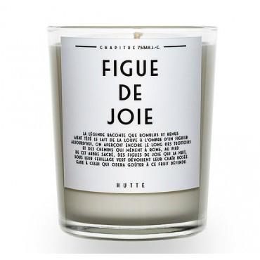 Bougie parfumée FIGUE DE JOIE 190g - HUTTE