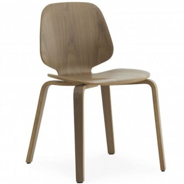 "Chaise ""My Chair"" Walnut Noyer - Normann Copenhagen"
