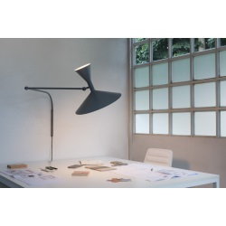 Applique Lampe de Marseille by Le Corbusier / L 166 cm - Réédition 1954 - Nemo