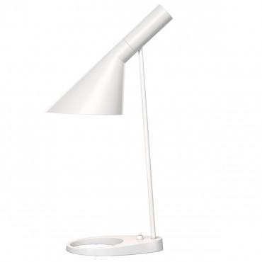 Lampe de table AJ Mini Blanc- Arne Jacobsen - Louis Poulsen