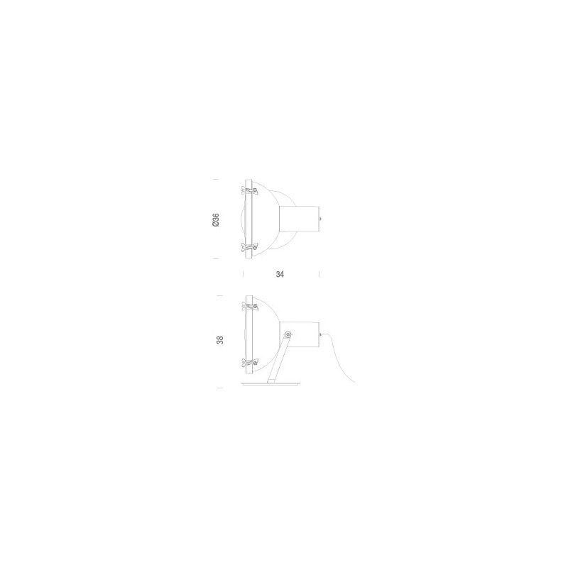 365 À Le Atelier Lampe 159 Poser Corbusier Projecteur xBeordC